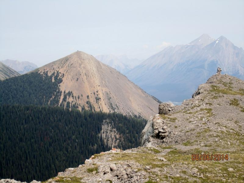 Tent Ridge left and end of the ridge