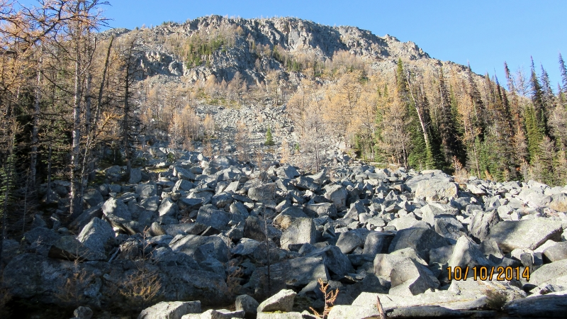 First Rock Pile with summit