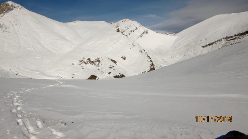 Red Peak top center