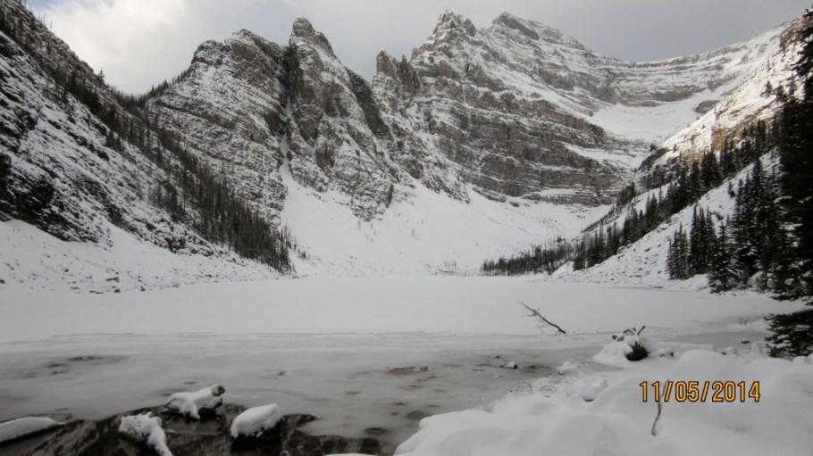 Lake Agnes Mt White & The Devils Thumb