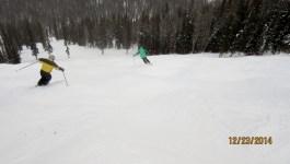 Lake Louise Ski Resort Dec 23