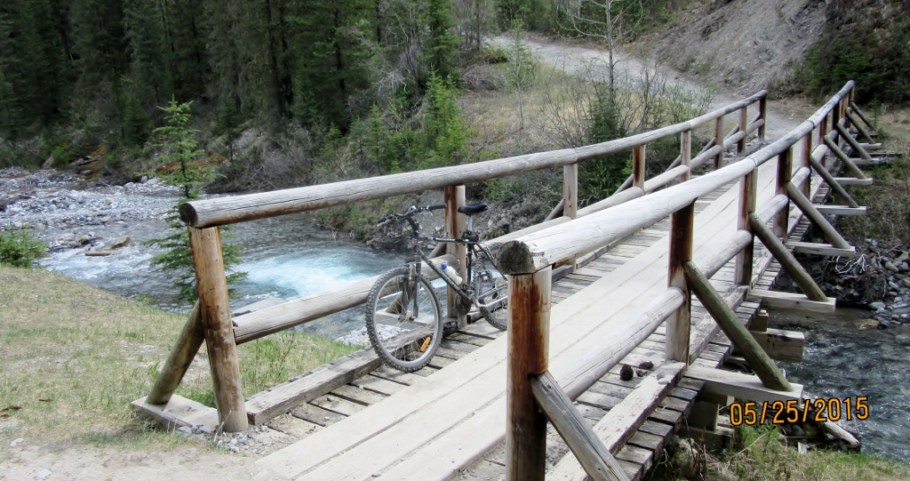 1st bridge over the Goat Creek