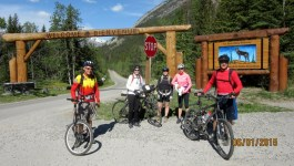 Bow Valley Parkway Banff to Castle Mountain by Bike