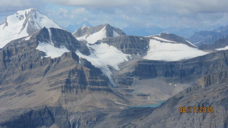 Caldron lake and Peyto Peak top rt