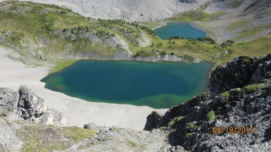 From Smutswood Ridge of both lakes