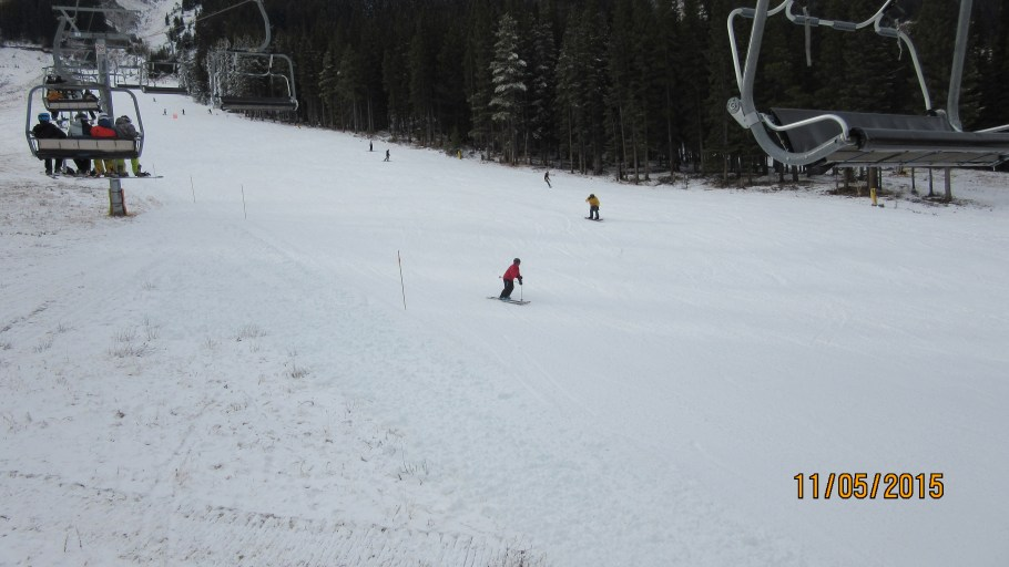 Norquay Opening Day