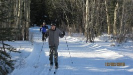 Cross Country Skiing Bill Milne Trail