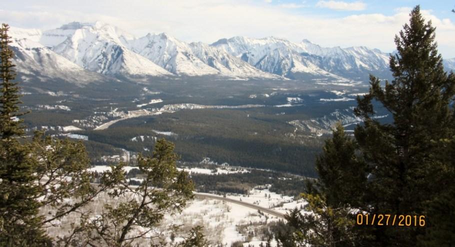 Bow Valley Mt Peechee,Mt Princess Margaret & Mt Charles Stewart