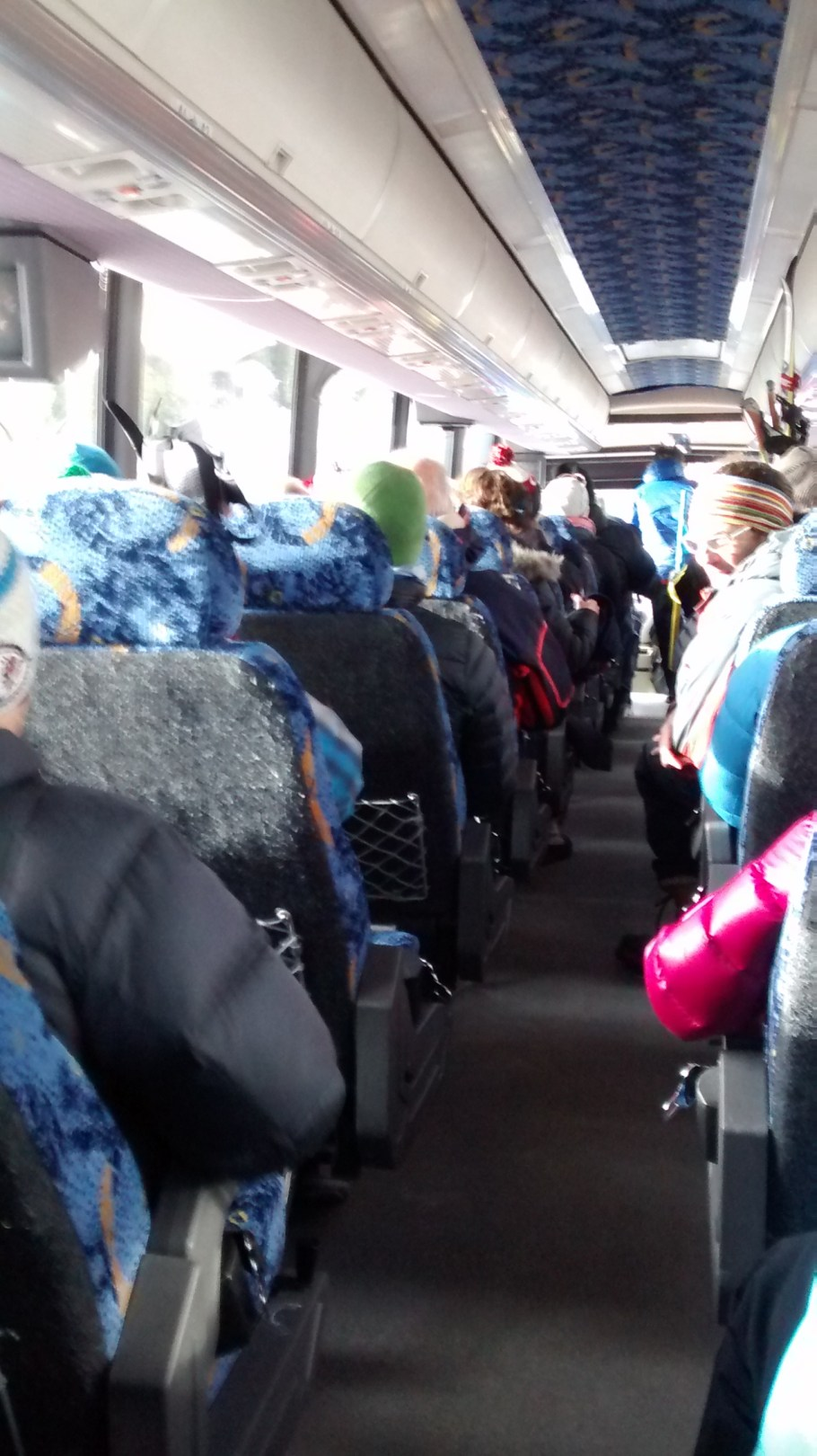 Free bus ride from downtown Canmore to the Canmore Nordic Center