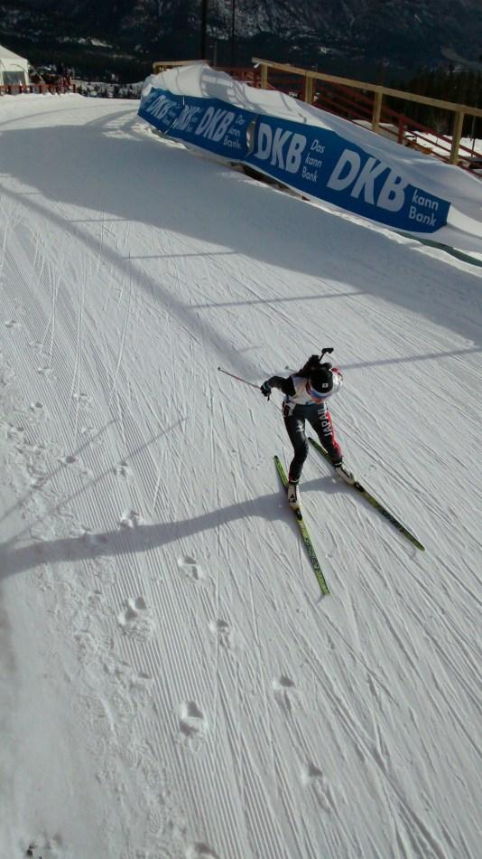 World Cup Biathalon 7.5 km Womans Sprint 7.5km