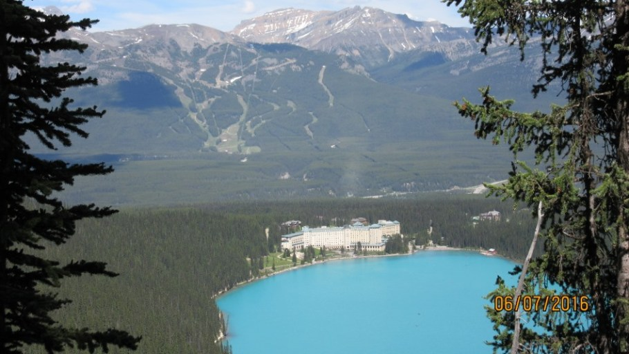 Lake Louise from the Cat Walk