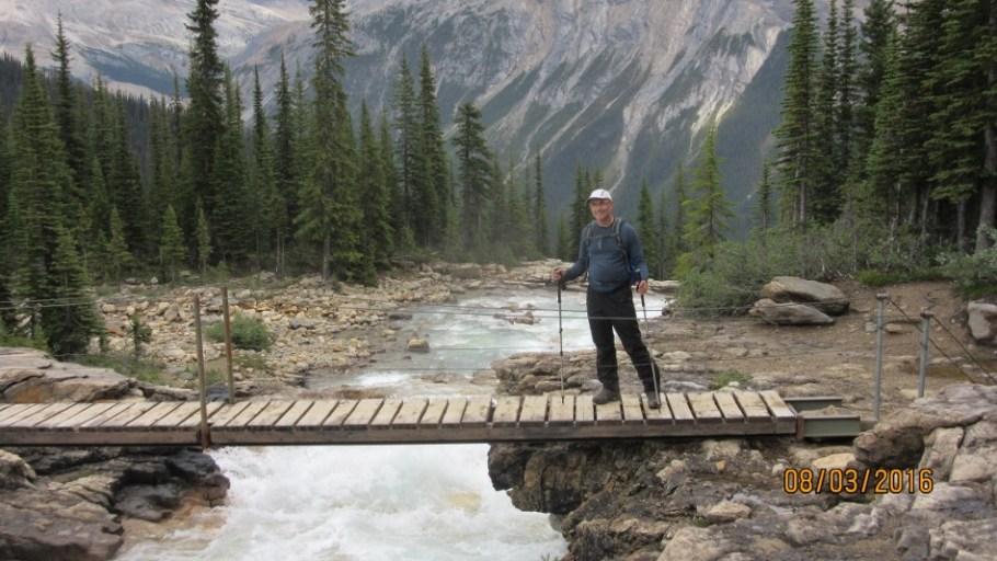 Vince on the bridge