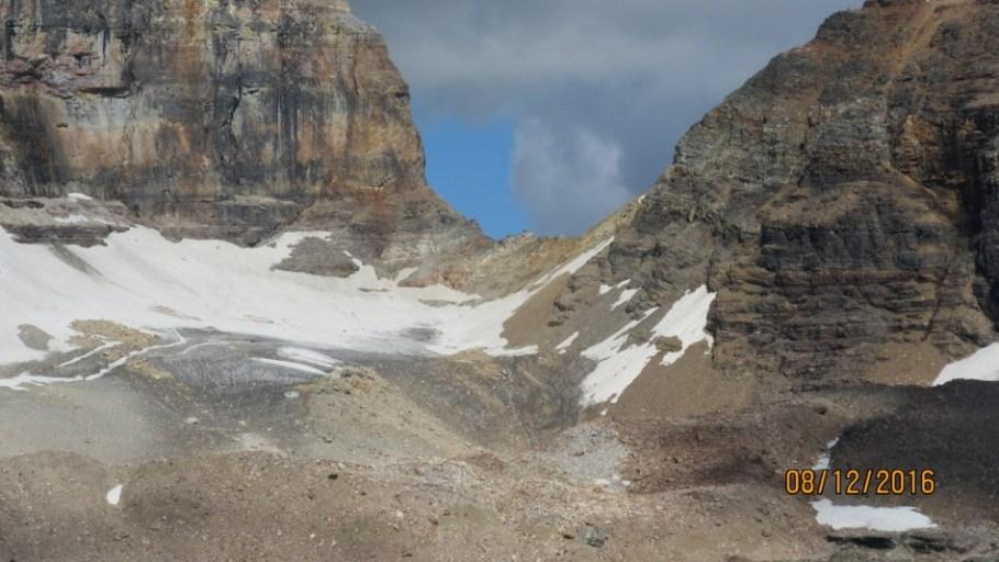 Closer look at Opabin Pass