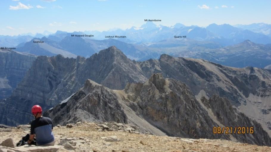 Mt Assiniboine and Sunshine Ski Area