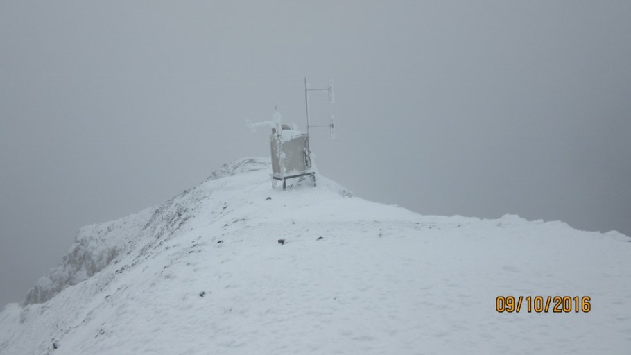 Weather station Summit Mt Sparrowhawk