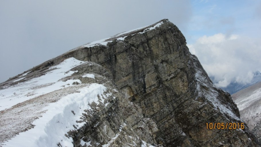 More peaks along Red Ridge