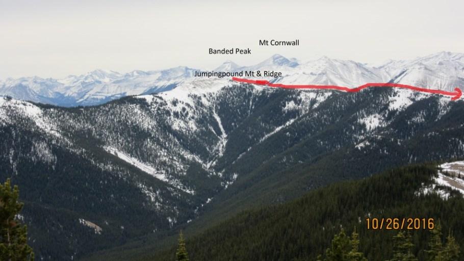 Views of Jumpingpound Ridge