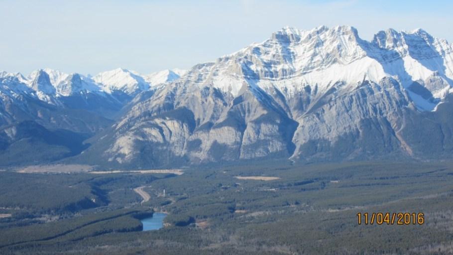 Johnson Lake and Cascade Mt