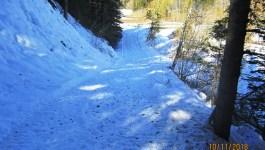 Ribbon Creek Cross Country Ski October