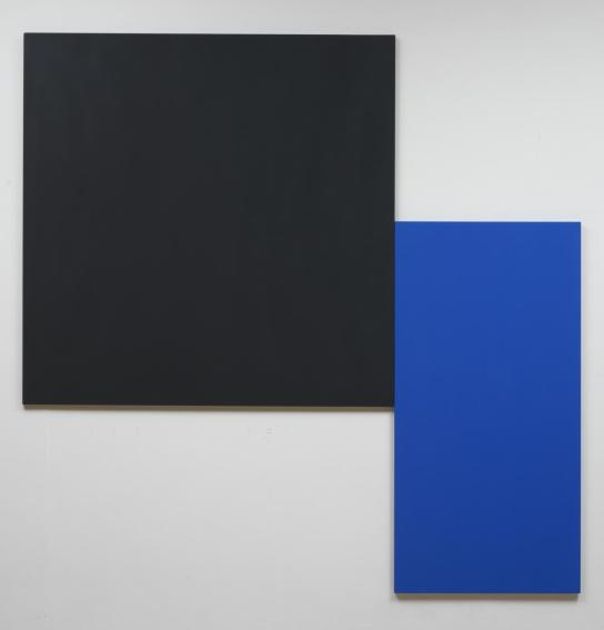 Black Square with Blue, 1970 Ellsworth Kelly