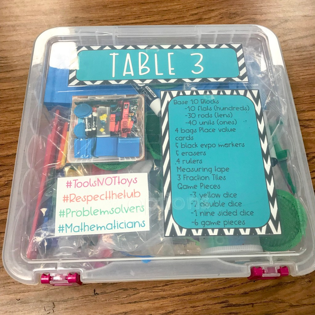 math toolkit for students for hands on learning