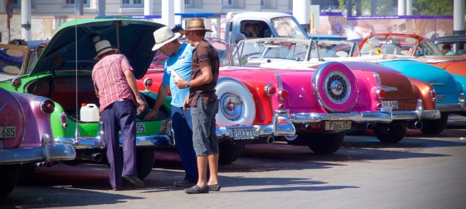 Those cars you've seen in downtown Havana