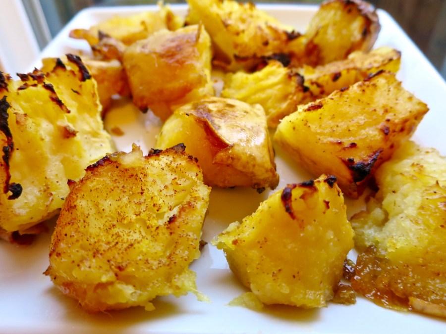 Roasted Honey Butter Sweet Potatoes