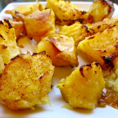 Roasted Honey Butter Sweet Potatoes