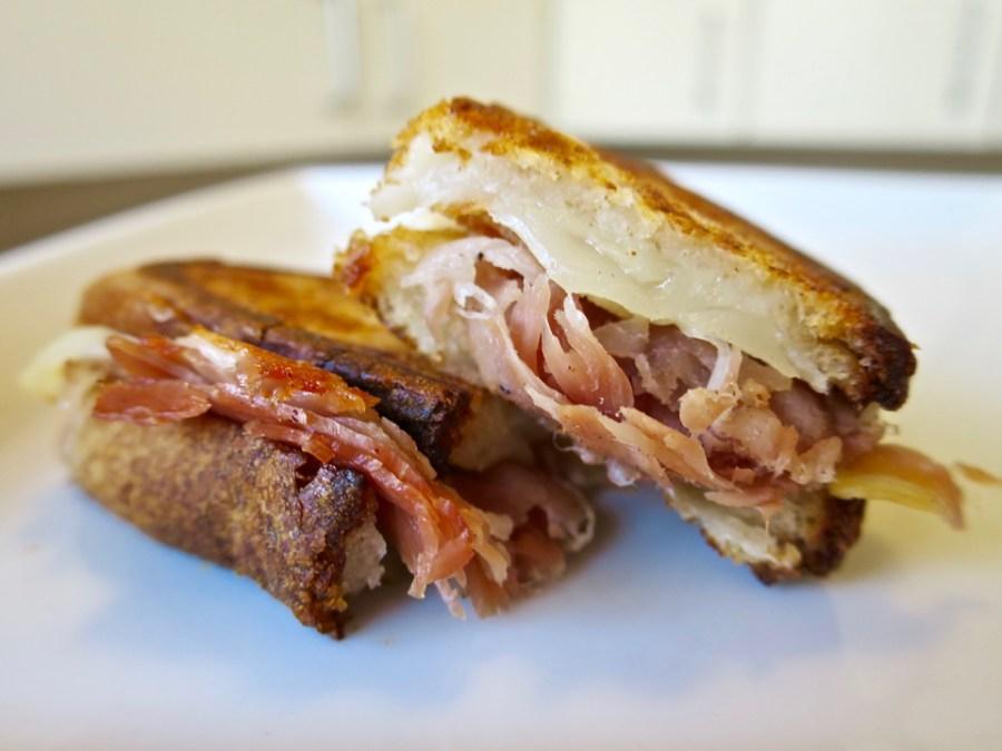 Spanish Inspired Grilled Cheese - Serrano Ham & Iberico Curado