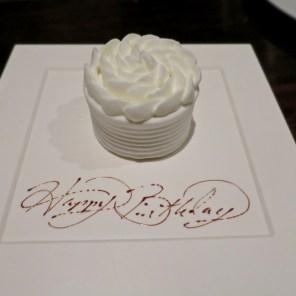 Birthday Dessert - Benu, SF, Oct 2016