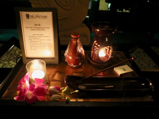 Banyan Tree Phuket - turn down service night 2