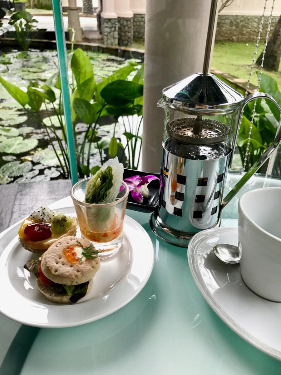 Banyan Tree Phuket - Afternoon tea