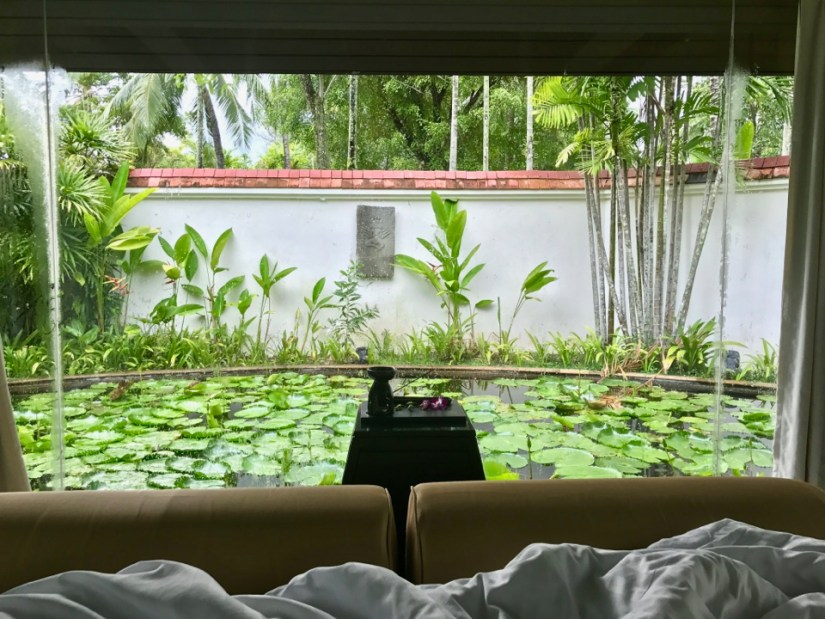 Banyan Tree Phuket - We woke up with this view!