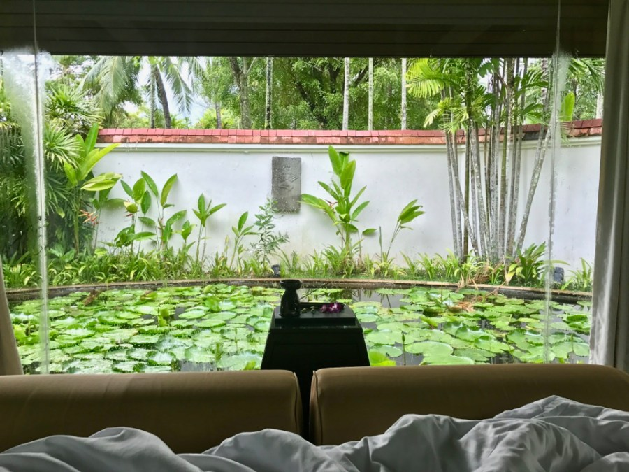 Banyan Tree Phuket - We woke up with this view!