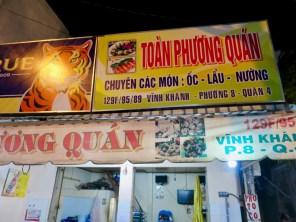 XO Tours Stop 3: Seafood at Toan Phuong Quan