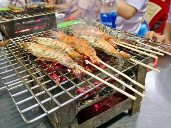 XO Tours Stop 2: Grilled Shrimp at Vietnamese BBQ