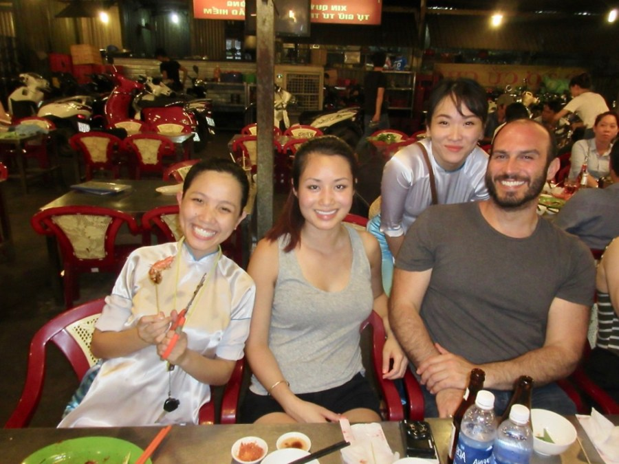XO Tours - With our amazing tour guides Hong and Duong!