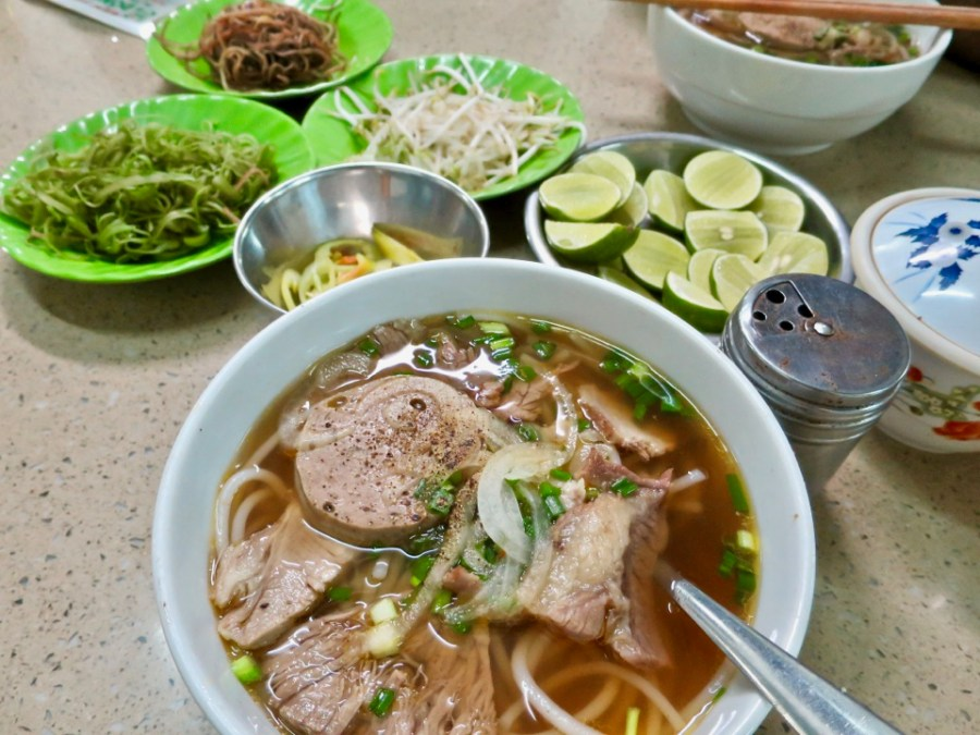 XO Tours Stop 1: Bun Bo Hue at Dong Ba