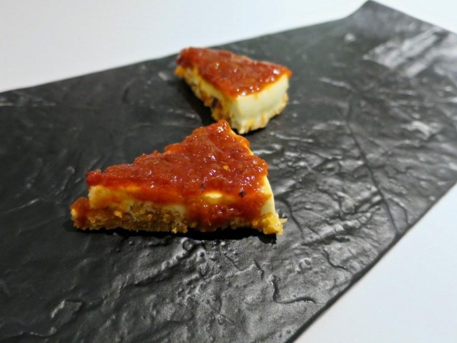 Gaggan - fish cake