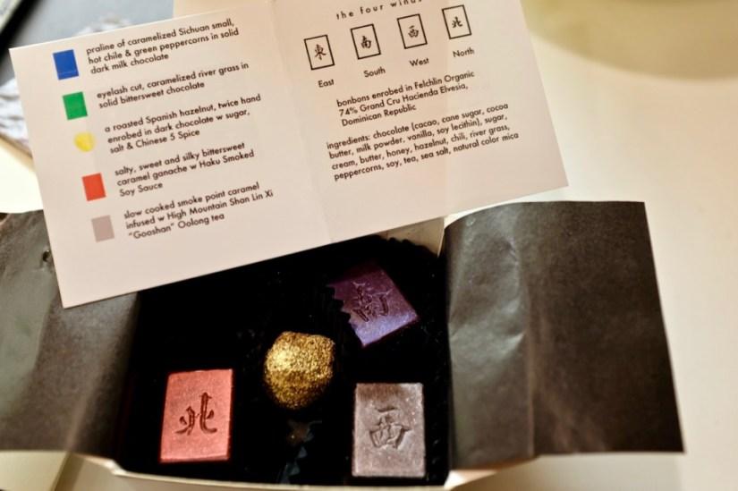Eight Tables Custom majong chocolates