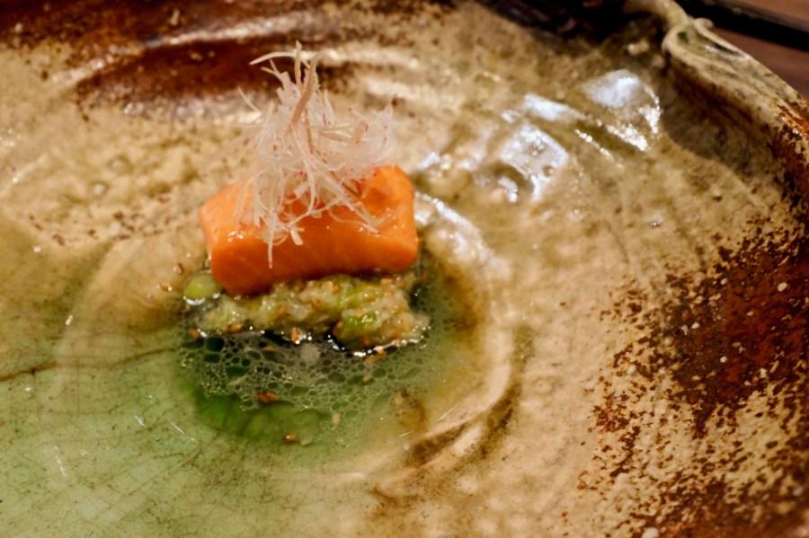 "Singlethread Farm - King Salmon ""Ibushi-gin"""