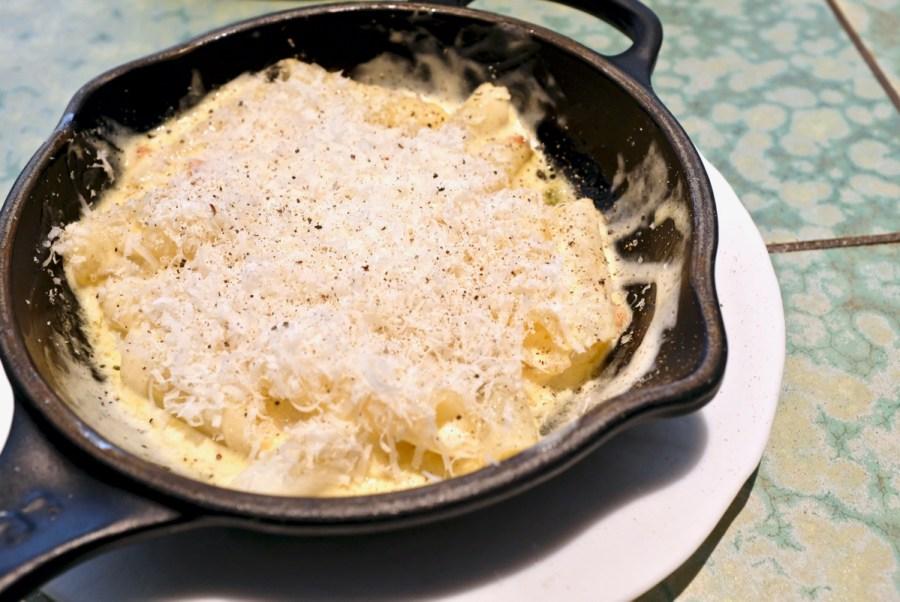 Disfrutar - Macaroni carbonara