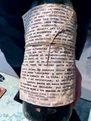 Disfrutar - Cariñena Viticola, Garnacha 1947, Cariñena