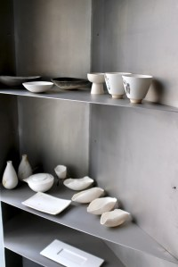 "Enigma Concept - Dinnerware on display in the ""ryokan"" room"