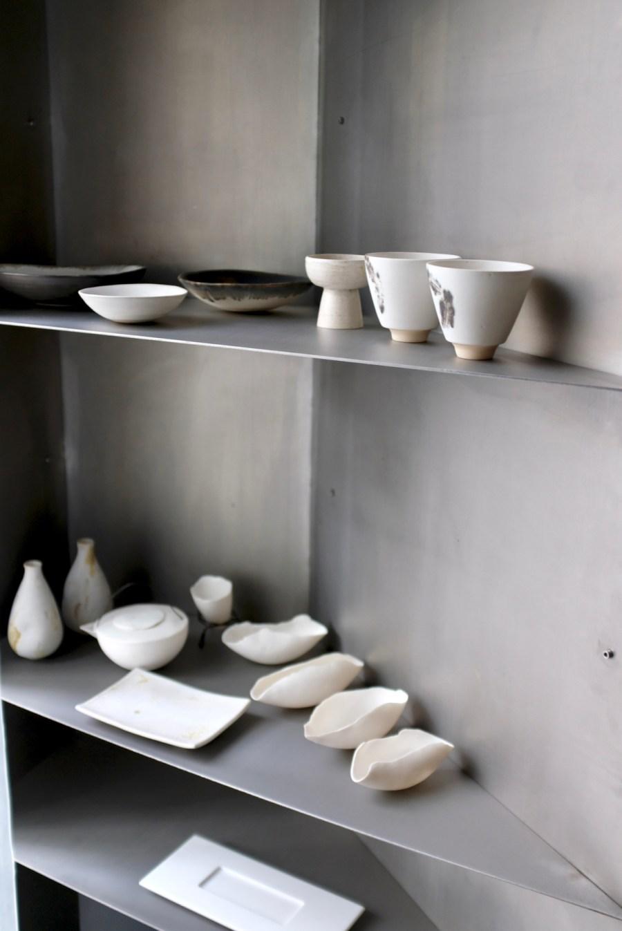 "Enigma Concept - Dinnerware on display in the ""ryokan"" room"