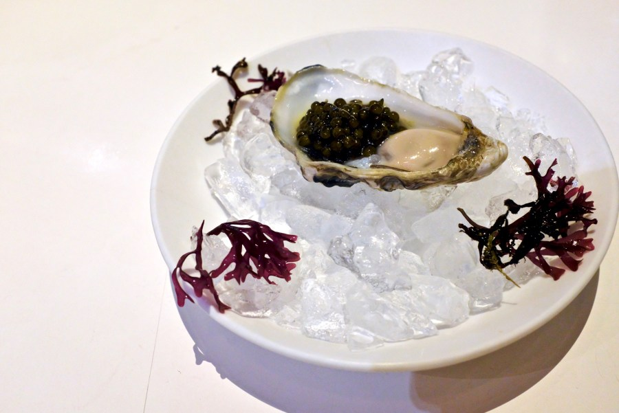 Tickets - Enigma Oyster with Caviar - Amelie oyster produced exclusively for elBarri