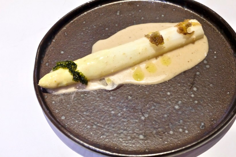 Tickets - White Asparagus, seaweed