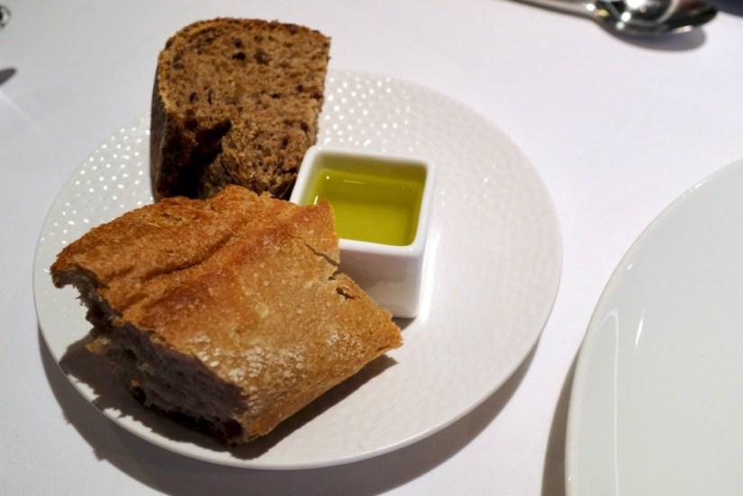 Arzak - Bread and olive oil