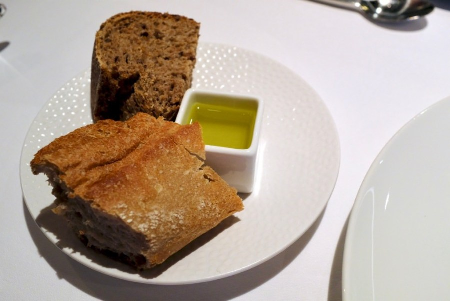 Arzak - Bread and olive oil