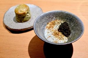 Maum - Maum Reserve Caviar, potato, tofu cream, biscuit